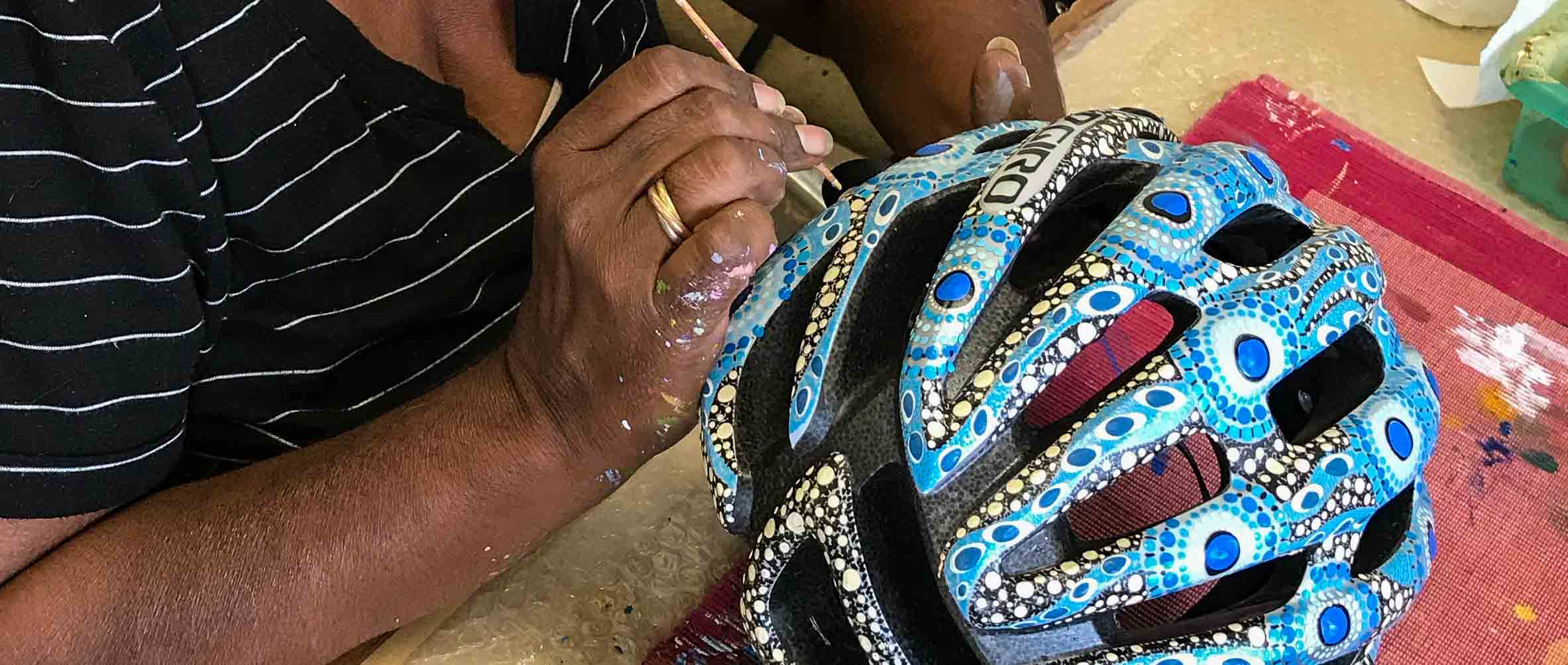 Helping Helmets in progress